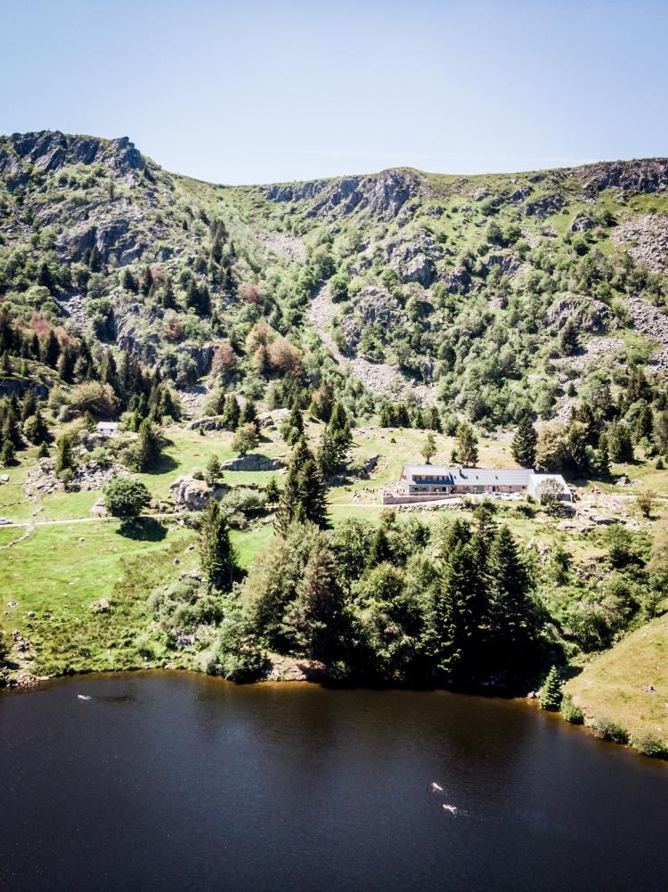 Le lac des Truites (Forlet) un merveilleux coin tranquille / Crédit photo - Pierrick Aubert